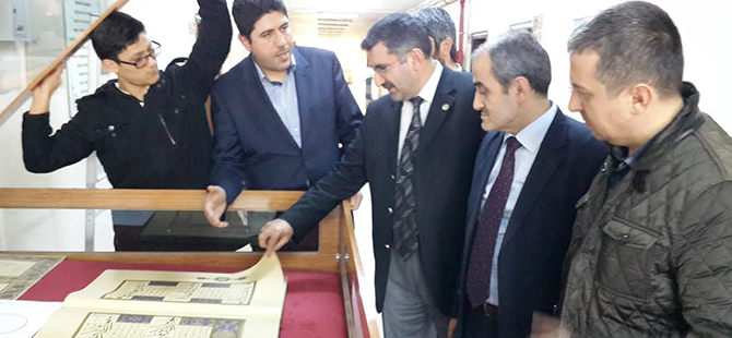 Ahmet Karahisarî Mushaf-ı Şerifi Ömer Çam'da