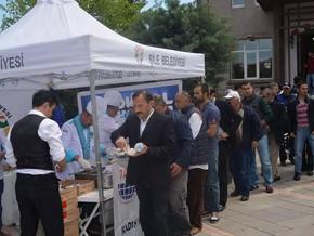 Pendik'li aşçılar şehitler için Kur'an okuttu