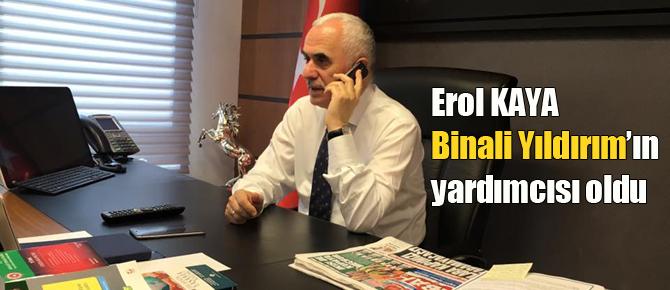 Erol Kaya Genel Başkan Yardımcısı oldu