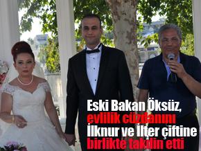Eski Ulaştırma Bakanı Enis Öksüz Pendik'te nikah şahidi oldu