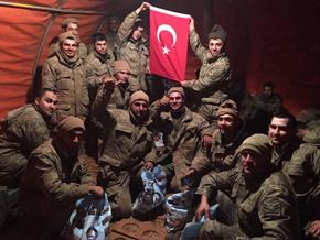 El-Bab'daki Kahramanlardan Tuzla'ya mektup var!