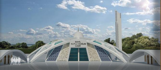 Türkiye'nin en prestijli Camii Tuzla'da inşa ediliyor!