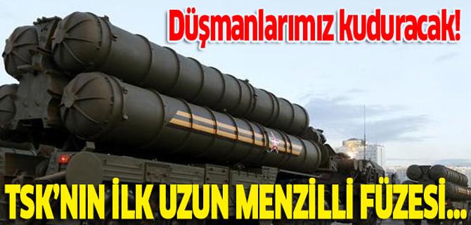 Türkiye'nin ilk uzun menzilli füzesi ortaya çıktı