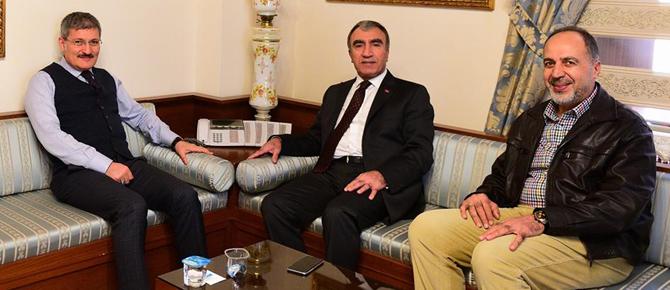 MHP Genel Başkan Yardımcısı'ndan Şahin'e çok önemli ziyaret!