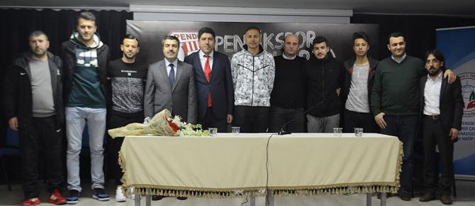 Pendiksporlu futbolcular, Ömer Çam İmam Hatip'te