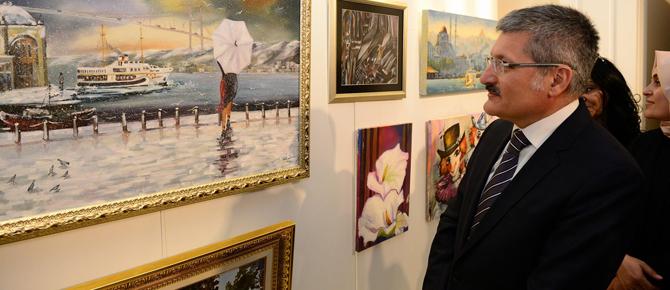 Pendik'te çok farklı görsel sanatlar sergisi!