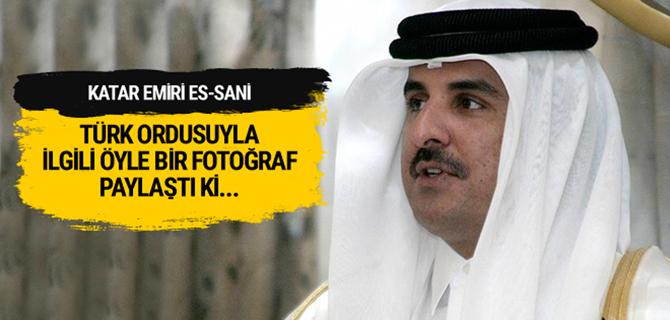 Katar Emiri'nden 'Türk ordusuna..