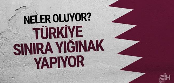 Türkiye sınıra yığınak yapıyor! Neler oluyor?