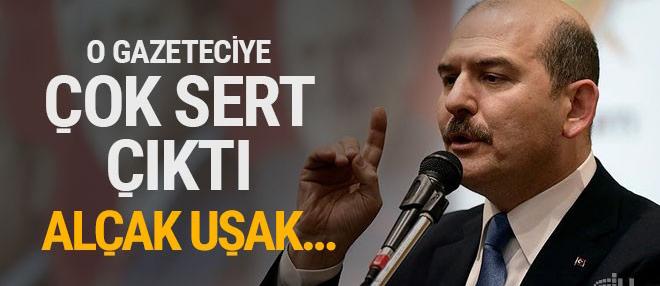 Süleyman Soylu'dan Baskın Oran'a: Alçak uşak