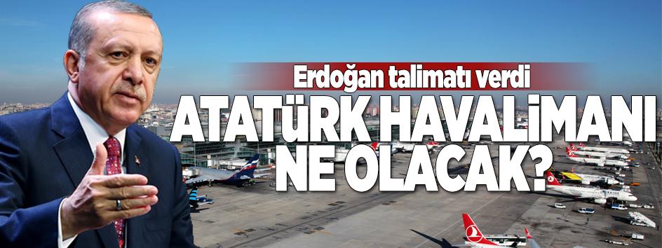 Bakan açıkladı! Atatürk Havalimanı'na ne olacak?.