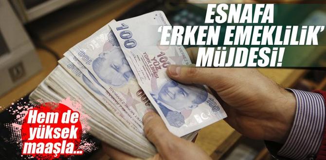 Son Dakika: Esnafa müjde! Yüksek maaşla SSK'dan emekli olabilirsiniz...