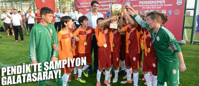 Pendik'te şampiyon Galatasaray oldu!