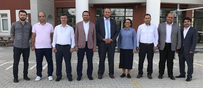 Tuzla Halil Türkkan'da Bayrak Değişimi