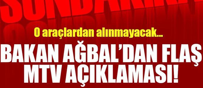 Son dakika: Bakan Ağbal'dan flaş MTV açıklaması!
