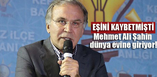 Mehmet Ali Şahin evleniyor!