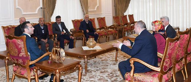 Anadolu Yakası Gaziler Derneği mülki amirleri ziyaret etti