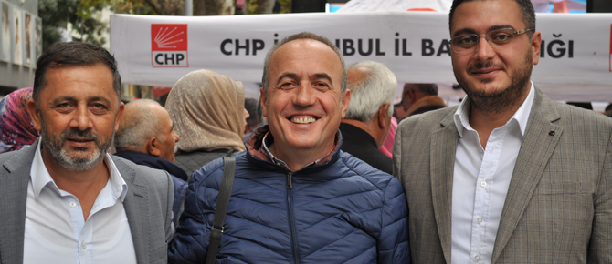 CHP Pendik İlçe Başkanlığı'dan Aşure ikramı