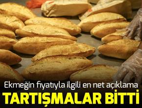 Ekmek fiyatlarıyla ilgili önemli açıklama