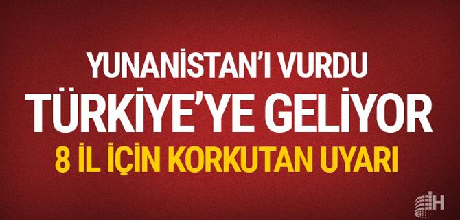 Hava durumu 17 kasım raporu geldi Marmara'ya kritik uyarı