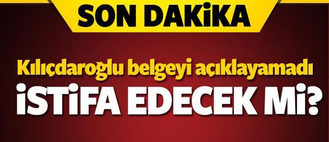 Kılıçdaroğlu rezil oldu! Belge açıklayamadı