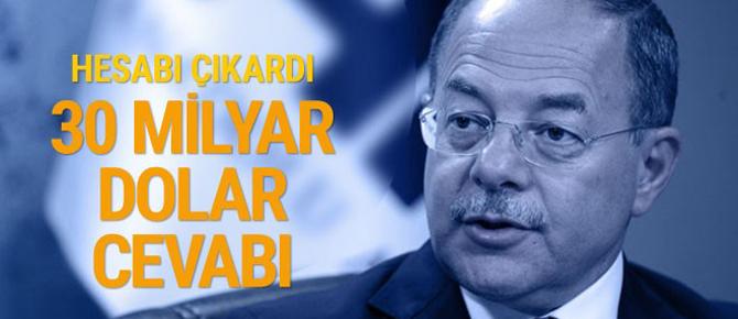 Kılıçdaroğlu'na '30 milyar dolar' yanıtı! İşte o hesap...