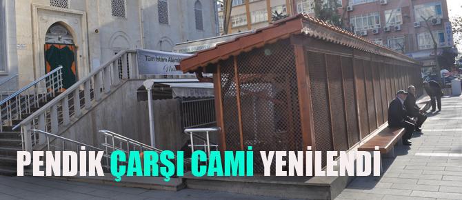 Çarşı Cami'ye modern meydan!