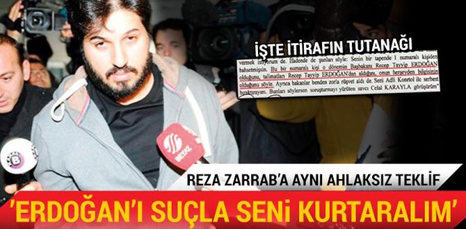"""""""Erdoğan'ı suçla seni kurtaralım"""""""
