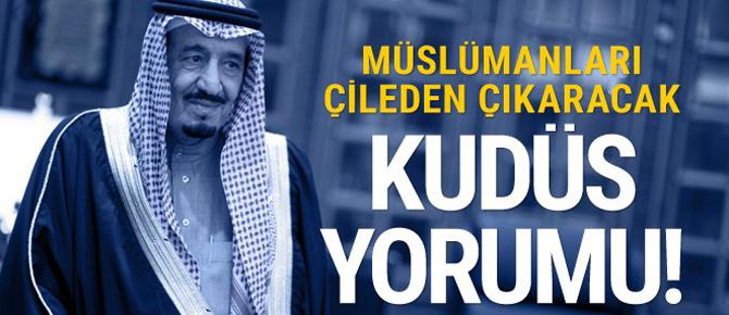 Suudi Arabistan'dan şok Kudüs çıkışı!