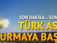 Son dakika... Türk ordusu vurmaya başladı
