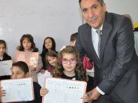 Namık Kemal İlkokulu'nda karne heyecanı