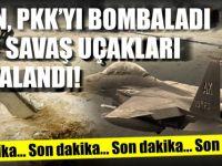 İran PKK'yı bombaları.. ABD savaş uçakları havalandı