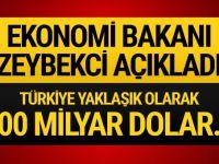 Bakan Zeybekci açıkladı! 100 milyar dolar..