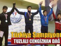 Cengizhan Dağ Şampiyon