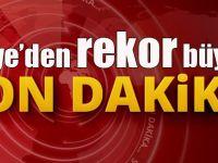 Türkiye'den rekor büyüme!