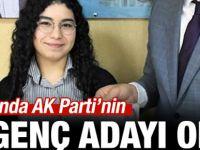 AK Parti'nin en genç milletvekili adayı