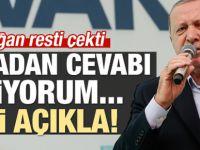 Erdoğan'dan Muharrem İnce'ye sert cevap