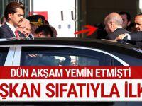 Başkan Erdoğan'dan yoğun mesai sonrası ilk iş!