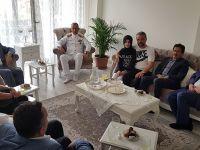 Tuzla Protokolü, Şehit Kabirlerini, Şehit ve Gazi Ailelerini Ziyaret Etti