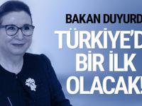 Bakan Pekcan duyurdu! Türkiye'de bir ilk olacak