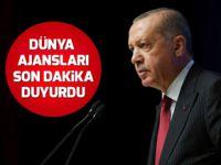 Başkan Erdoğan'ın kararı dünya basınında