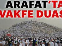 Diyanet İşleri Başkanı Erbaş'tan Arafat'ta vakfe duası!