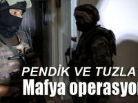 Pendik ve Tuzla minibüsçülerine baskı kuran çeteye operasyon!