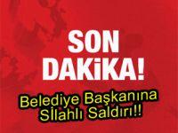 AK Partili belediye başkanına silahlı saldırı!