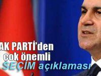 AK Parti'den çok önemli yerel seçim açıklaması!