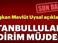 Son Dakika: İstanbul'lulara indirim müjdesi..