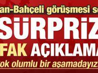 Erdoğan-Bahçeli görüşmesine ilişkin flaş açıklama