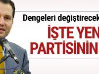 Fatih Erbakan yeni parti kurdu