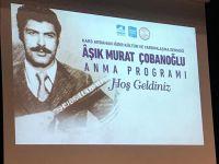 Aşık Murat Çobanoğlu Pendik'te Anıldı