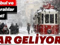 Meteoroloji'den son dakika hava durumu ve kar yağışı uyarısı geldi!