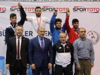Pendik Güreş İhtisas Türkiye Üçüncüsü